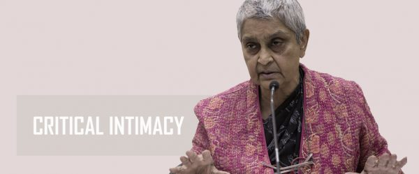 Keintiman Kritis: Wawancara dengan Gayatri Chakravorty Spivak